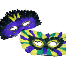 feather masks mardi gras feather masks