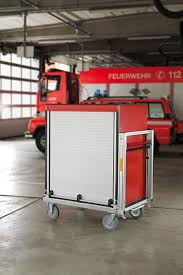 Rollcontainer Doppler Brandschutz Rollcontainer Logistik