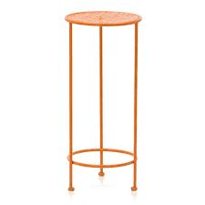 Orange Side Table Orange Metal Side Table Modernica Props
