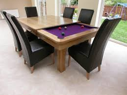 creative design wood dining table as billiard table have black