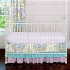 Turquoise And Purple Bedding Aqua And Purple Jasmine Crib Bedding Carousel Designs