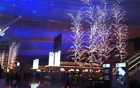 magical illuminations in the haneda airport international terminal