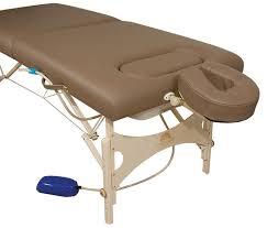oakworks portable massage table pneumatic massage table portable height adjustable with