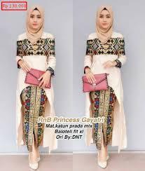 desain baju kekinian desain baju batik atasan dan bawahan fashion remaja 2018