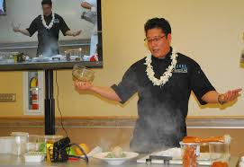 food science in professional kitchen with chef jon matsubara