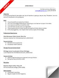 Assistant Preschool Teacher Resume Download Preschool Teacher Resume Sample Resume Examples