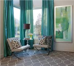 Turquoise And Grey Curtains Adorable Gray And Turquoise Curtains And Gray And Turquoise