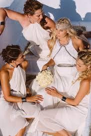 Greek Style Wedding Dresses Santorini Orthodox Wedding At Anastasi Church Kiri Damien