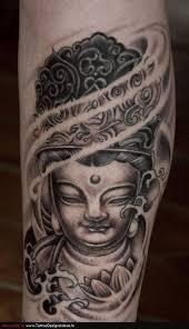grey ink small buddha by tess at ink