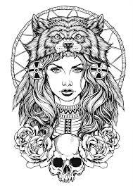 wolf headdress hustle living