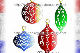 ornaments cutting files with design bundles