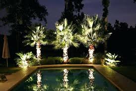 Pool Landscape Lighting Ideas Light Pool Landscape Lighting