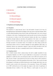sample dissertation introduction chapter sample study