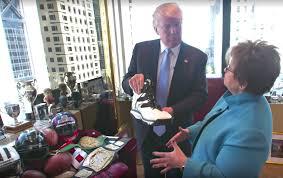 video go inside donald trump u0027s personal office in trump tower 6sqft