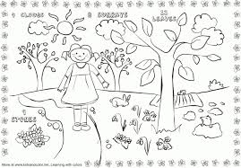 100 spring color pages rainy spring coloring sheet create a