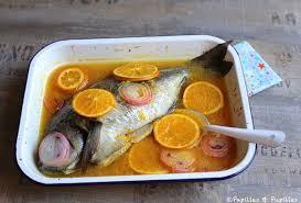 cuisiner de la dorade dorade au four à l orange et au citron