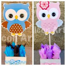 owl baby girl shower decorations owl baby shower centerpiece for guest table owl centerpiece owl