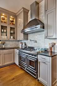 Slate Grey Kitchen Cabinets Gray Cabinets Black Counters Slate Herringbone Floor Marble Hex