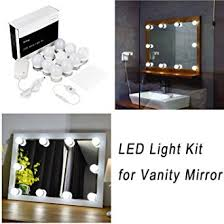 amazon com hollywood style led vanity mirror lights kit for