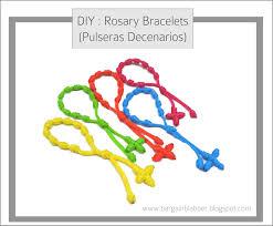 diy rosary diy rosary bracelets pulseras decenarios bargain blabber