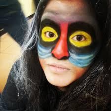 inspired by disney u0027s the lion king rafiki my makeup stuff