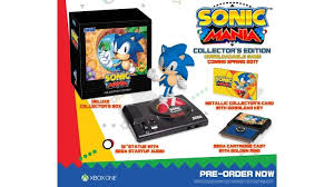 collector s buy sonic mania collector s edition for xbox one microsoft store