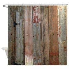 Western Fabric For Curtains Cafepress Rustic Western Turquoise Barn Wood Decorative Fabric