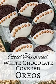 where can i buy white chocolate covered oreos gold trimmed white chocolate covered oreos white chocolate