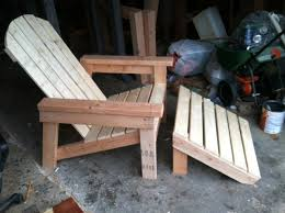Free Adirondack Deck Chair Plans by 2x4 Easy To Build Adirondack Chair Plans By Ana White Outdoor