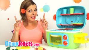 cuisine enfant jouet cook cuisinière enfant sonore et lumineuse oxybul démo jouets