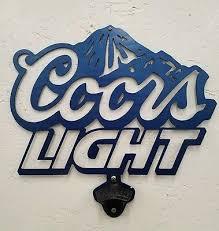 coors light gift ideas coors metal wall art plasma cut decor light beer mancave sign gift