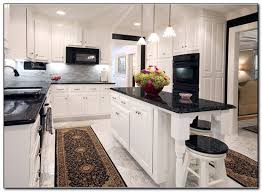 kitchen colors with oak cabinets and black countertops u2013 home and
