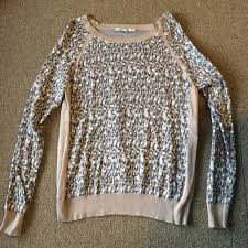 cato sweaters leopard sweater gray white leopard sweater purchased from