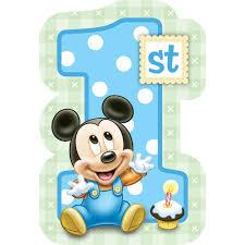 template stylish 1st birthday invitation card for baby boy india