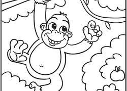 preschool jungle coloring pages jungle coloring pages printables education com