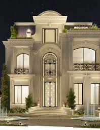 Luxury Mansion Interior Grand DoubleStaircased Foyer Design - Luxury house interior design