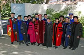 faculty regalia senate gallery academic senate csu channel islands