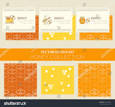 vector design kit business card templates stock vector 414000058