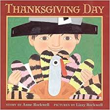 thanksgiving day trophy picture books rockwell lizzy