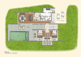 Contemporary Floor Plan Singapore Luxury Rental Homes The Club Residences At Capella