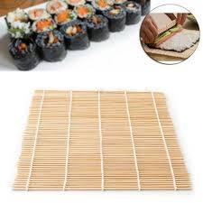 kit cuisine japonaise matériel mat de riz japonais bambou trousse sushi qui les cuisine