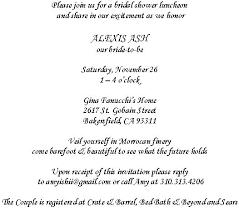 bridal shower wording bridal shower invitation wordings bridal