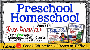 homeschool preschool curriculum free trial for age 3 and 4