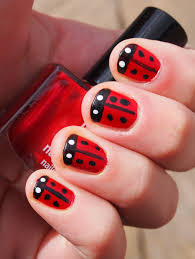 strawberry fields forever nail art tutorial red nail art 1 769x1024 on designs next http www designsnext com