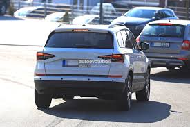 skoda yeti 2018 2018 skoda yeti replacement karoq gets into focus in new spy