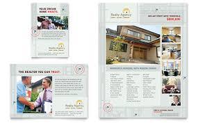 real estate agent flyer template real estate agent realtor