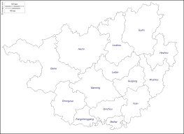 Guilin China Map by Guangxi Free Map Free Blank Map Free Outline Map Free Base Map