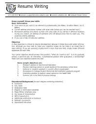 college student resume career objective objective for college student resume