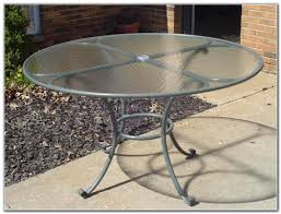 glass top patio table replacement patios home furniture ideas