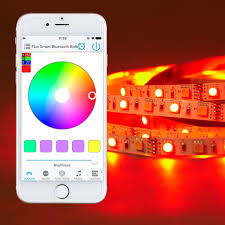 bluetooth smart led light strip kit color changing tape lights